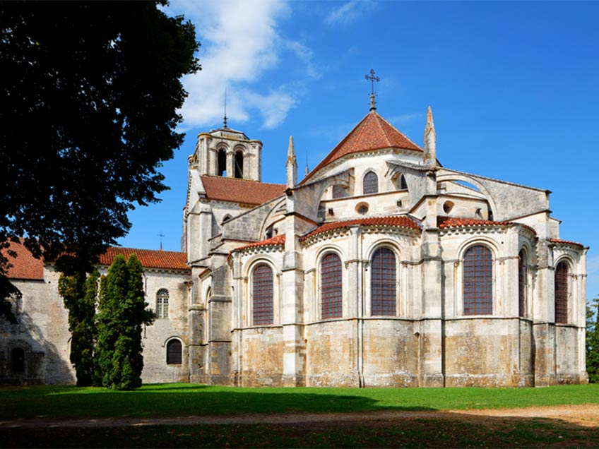 La basilique de Vezelay