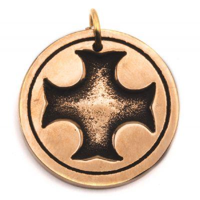Médaille Croix des Templiers