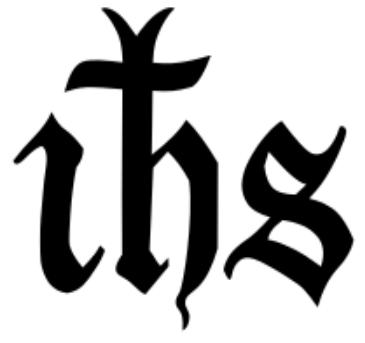 Le monogramme de Jésus-Christ