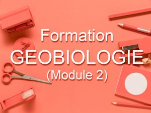 Formation Géobiologie (Module 2)